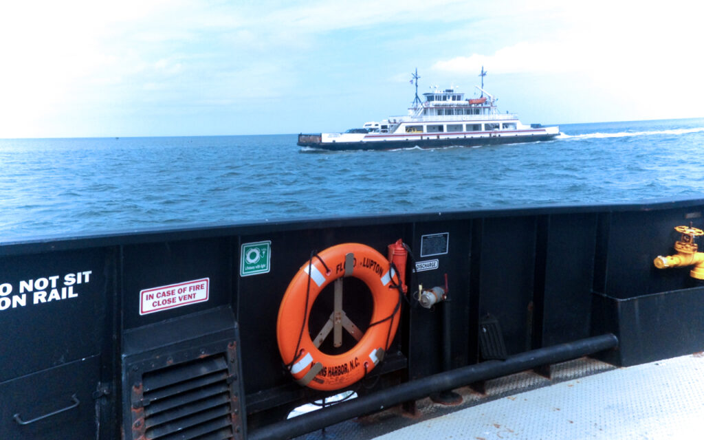 Ocracoke to Hatteras ferry